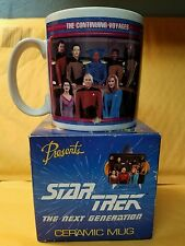 Star Trek Next Generation Crew mug vintage 1992