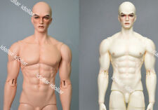 1/3 bjd doll falcon male muscle uncle handsome free eyes with face make up