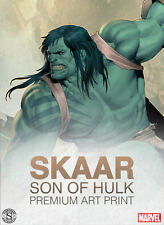 Sideshow Collectibles Marvel Skaar Son of Hulk Premium Art Print SOLD OUT LE 300