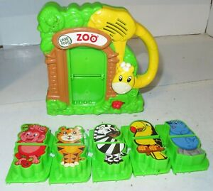 Leap Frog Fridge Zoo Matching Game Magnetic Animal Set Sounds Interactive Works