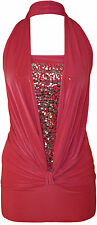 Size Regular Polyester Sleeveless Tops & Blouses for Women