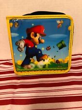 Super Mario Bros Pull & Go Folio Case Nintendo DS DSi 3DS Mario Land World