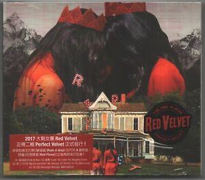 Red Velvet: 2nd Mini Album - Perfect Velvet (2017)  CD & CARD TAIWAN SEALED