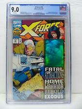 X-Force 25 - Distorted Hologram Error Noted On Label VERY RARE - CGC Graded 9.0