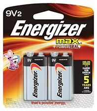 Energizer 522BP2 Max 9V2 Batteries