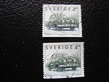 SUEDE - timbre yvert et tellier n° 1728 x2 obl (A29) stamp sweden