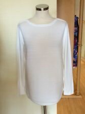 Betty Barclay Sweater Size 10 BNWT Off White Ribbed RRP £70 Now £32