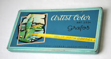 Vintage Grafos Artist Color tin box ART. 2324