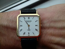 Raymond Weil 5749 VINTAGE COLLECTION 18 K GOLD ELECTROPLATED WATCH SWISS NOS UHR