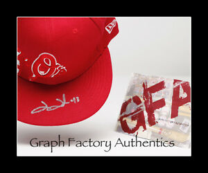 Jim Johnson Baltimore Orioles Signed Autographed Fitted Hat COA GFA