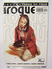 Marvel Comics Icons Rogue number 3 Resealable Comic Bag and Board