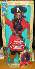 Disney Exclusive Pirates of the Caribbean THE PIRATE CAPTAIN doll figure 1993