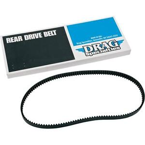 """Drag Specialties 1204-0041 128 Tooth 1.5"""" Performance Rear Drive Belt  Harley"""