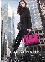 Publicité 2014 - LONGCHAMP Paris