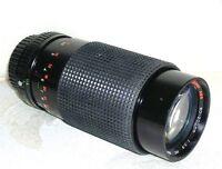 Minolta MD Mount 80~200mm f4.5 Macro Zoom Lens X370 X570 X700 XG1 XG7 XG9 XGM XD