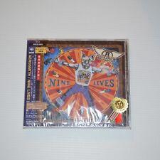 AEROSMITH - Nine lives - 1997 JAPAN CD NEW & SEALED