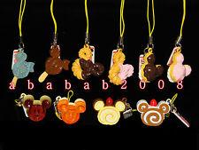 Yujin Disney Mickey Cafe Sweets Part.2 strap figures gashapon (full set 10 Pcs)