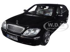 2000 MERCEDES BENZ S 600 PULLMAN LIMOUSINE BLACK 1/18 DIECAST BY SUNSTAR 4111