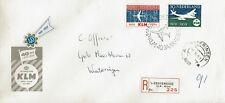 Nederland, aangetekende brief 40 jr KLM