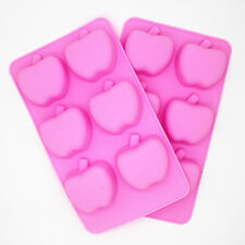 Happy Birthday Silicone Cake Mold Decoration Chocolate Baking Mold - Mini Apples