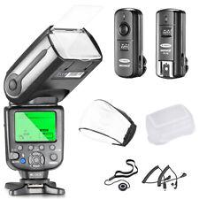 Neewer NW565EX Pro I-TTL Slave Flash Speedlite Kit for Nikon DSLR Cameras