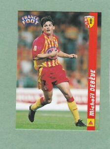 MICHAEL DEBEVE LENS FRANCE FOOTBALL 1998/99 CARD #68