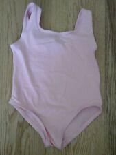 Girls ballet leotard size 0 pink