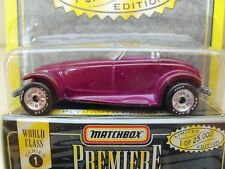 "1995 MATCHBOX ""PREMIERE COLLECTION"" SERIES 1 - PLYMOUTH PROWLER - DIECAST"