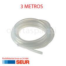3X Tubo Atoxico de Silicona 1 Metro para compresor de aire Peceras y Acuarios