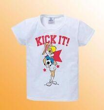 T-shirt pour fille de 2 à 16 ans en 100% coton taille 13 - 14 ans