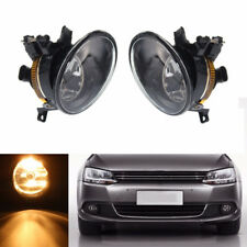 A Pair of Front Lower LED Bulb +Fog Light Assembly For Golf Jetta MK6 Touran Eos