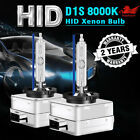 D1s Hid Xenon Headlight Light Bulbs Oem Replacement For Bmw Audi Vw 8000k Blue