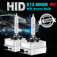 D1s Hid Xenon Headlight Light Bulbs Oem Replacement For Bmw Audi Vw 8000k Blue Fits 2010 Cadillac Cts