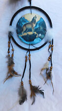 Howling Wolf / Midnight Call Design Dreamcatcher / Dream Catcher - BNIB