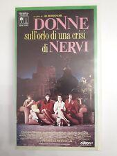 FILM VHS Donne sull'orlo di una crisi di nervi  di Almodovar  CS27