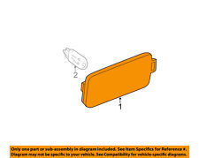AUDI OEM 12-17 A7 Quattro-Side Marker Lamp Left 4G8945127