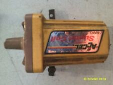 Vintage Yellow Accel Super Coil ford dodge chevy amc buick olds140001 w/ Bracket