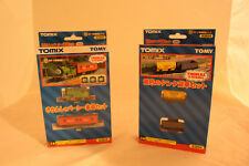 Thomas the Tank Engine - Percy - 2 Cars Set plus Yellow Tank 2 Cars Set - Tomix