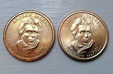 2008-P&D  $1 Andrew Jackson Presidential Dollars - FREE SHIPPING