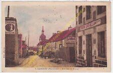 CPA 56120 LANOUéE rue du Bourg & Epicerie Café BELLAMY  Edit LE CLAIRE ca1947