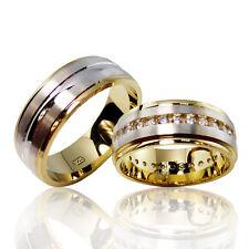2 Trauringe 925 Silber GRAVUR + Etui Eheringe Verlobungsringe Partnerringe 3302