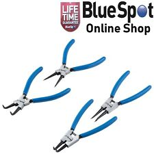 INTERNAL & EXTERNAL CIRCLIP PLIERS SET OF 4 (2 BENT, 2 STRAIGHT) BLUE SPOT 08702