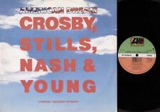 "CROSBY STILLS NASH & YOUNG American Dream  12"" Ps, 3 Tracks Inc Compass+Soldiers"