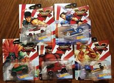 Street Fighter Complete Set of 5 - Hot Wheels Gaming Character Cars (2020)