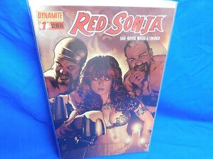 RED SONJA SHE-DEVIL WITH A SWORD #7 ADAM HUGHES COVER VF/NM DYNAMITE 2006