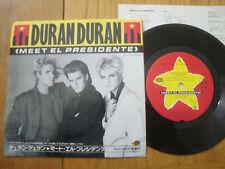 "DURAN DURAN - MEET EL PRESIDENTE -MINTY PROMO JAPAN 7"" 45 SINGLE - EMI EMS-17705"