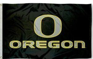 OREGON DUCKS 3'X5' NCAA FLAG BANNER: FAST FREE SHIPPING
