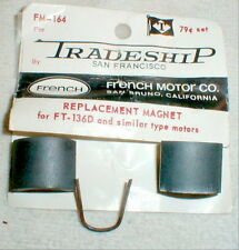 1 Pair Super Magnets 36D by French Motor Co with Retainer Spring  Sold TRADESHIP