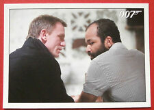 JAMES BOND Quantum of Solace - Card #068 - Felix Tells Bond Where To Find Greene