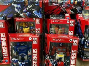 Transformers R.E.D. Robot Enhanced Design: Beast Wars, Prime & G1
